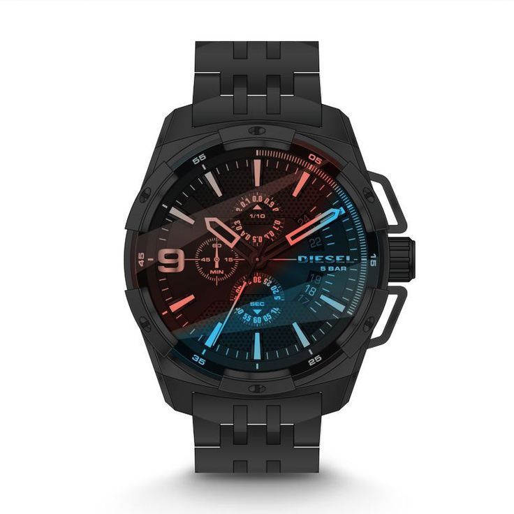 DIESEL DZ4395, orologio cronografo uomo Diesel Heavyweight mod DZ4395