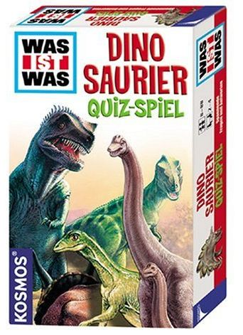 Dinosaurier Quiz-Spiel