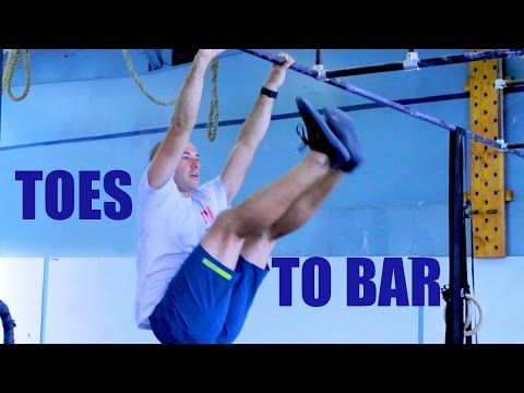 HOW TO IMPROVE TOES TO BAR - YouTube