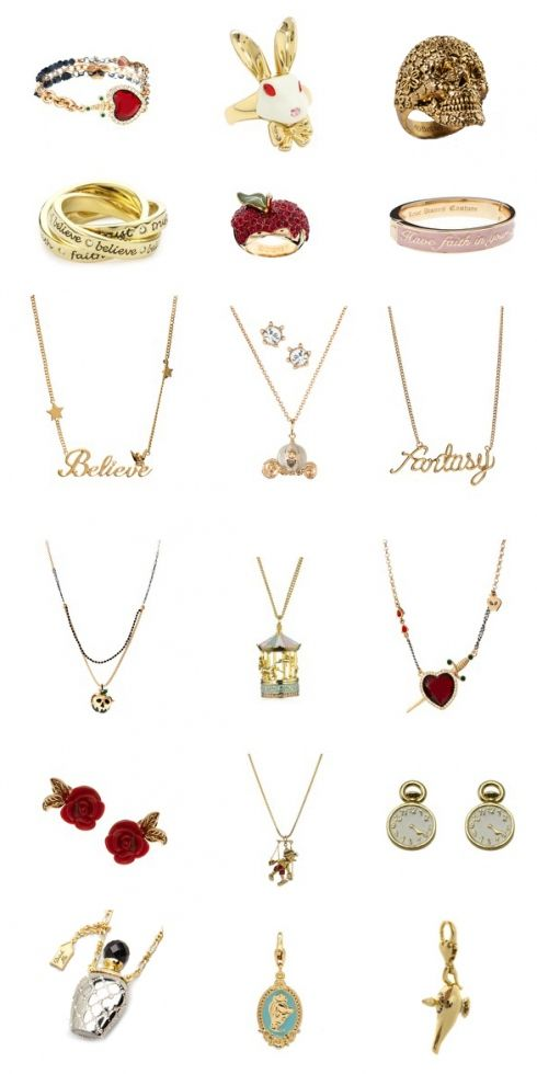 Disney Couture Jewellery <3 I have the little clock earrings :-) x