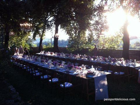 Imperial table Borgo Casabianca Asciano