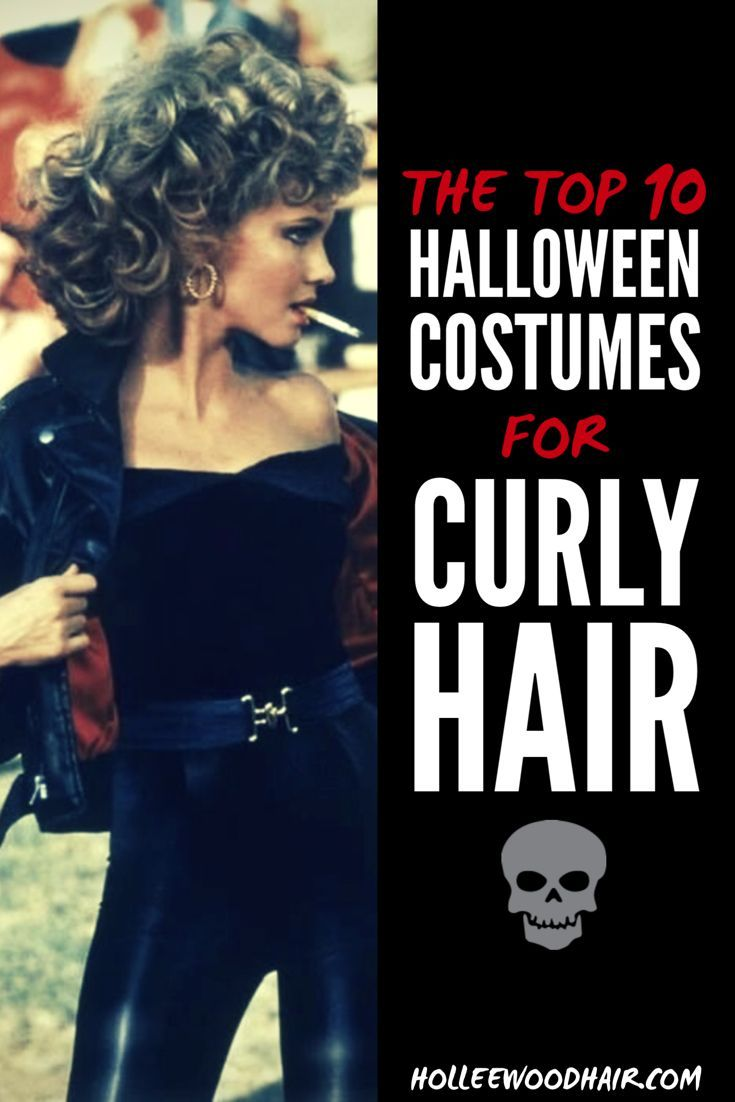 The 10 Hottest Halloween Costume Ideas For Curly Hair In 2020 Curly Girl Hairstyles Curly Hair Styles Long Hair Styles