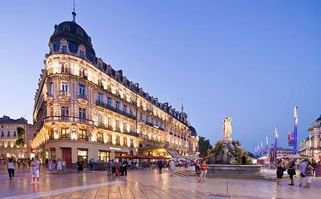 Montpellier, a city in one of the most famous wine regions: Languedoc-Roussillon
