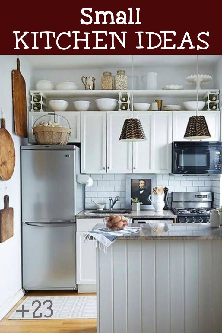 Tiny Kitchen Decor And Remodeling Ideas We Love In 2020 Small Space Kitchen Kitchen Design Small Tiny House Kitchen
