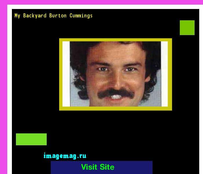 My Backyard Burton Cummings 100359 - The Best Image Search