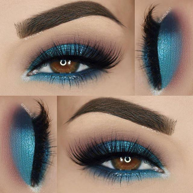 17 best ideas about blue eyeshadow on pinterest