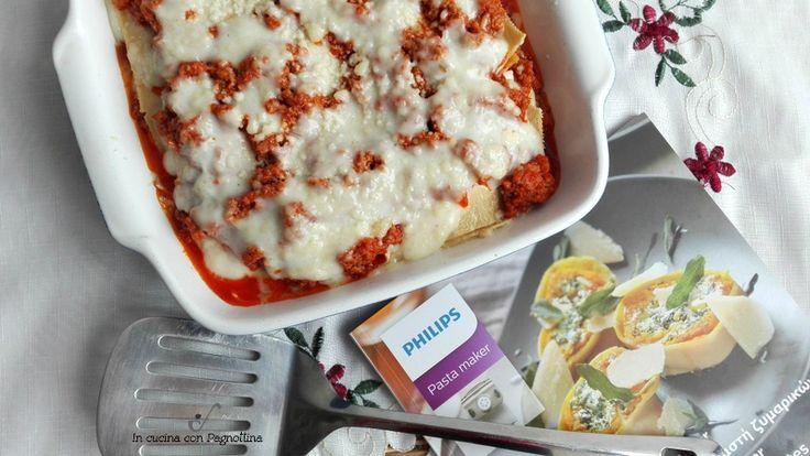 #Lasagne alla bolognese #pastafattaincasa #philipsincucina #pastamaker