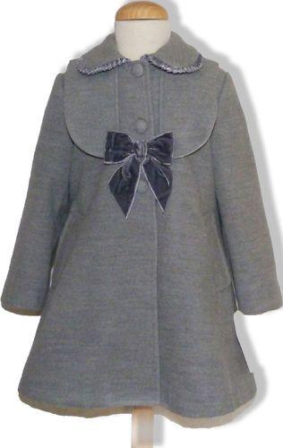 f11ac60c9 Abrigo clásico para niña | Mujercitas | Abrigos, Abrigos para niñas ...