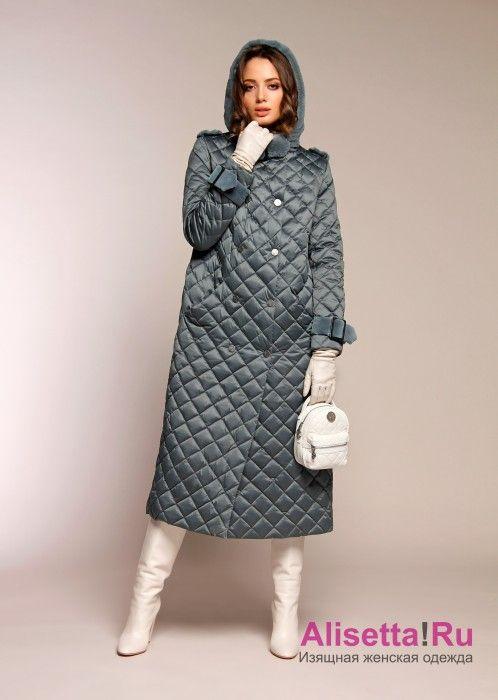 0c9a030c6a9 Купите модное женское пальто-пуховик Naumi 18 W 718 01 13 Emerald – Зеленый  из