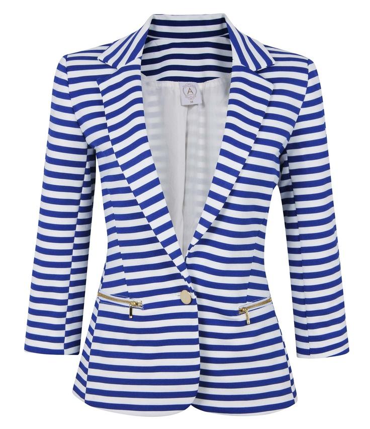 Navy style blazer
