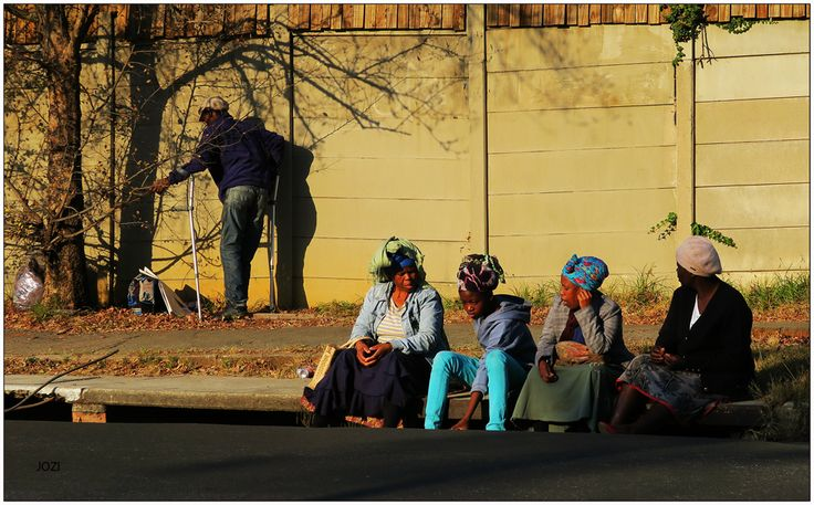 Sunday afternoon get-together, Jozi