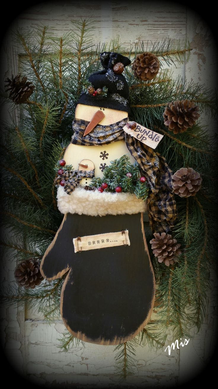 Crow Christmas Ornaments
