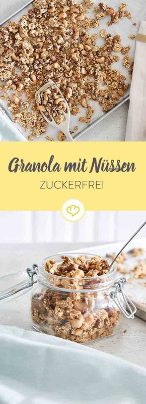 Granola ohne Zuckerzusatz