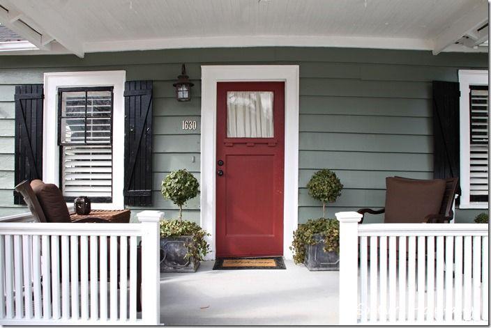 Cozy Porch ~ Home Tour