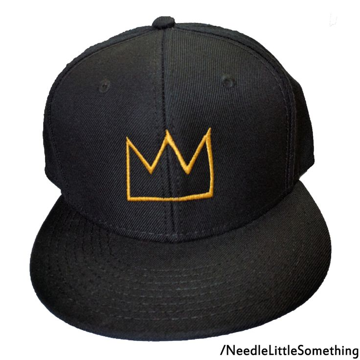 "With Jean-Michel Basquiat's ""Untitled"" 110 million dollar skull painting re-emerging for a world tour beginning in Brooklyn, NY, We can pay tribute to the world renowned artist and his achievements by grabbing a Basquiat Crown custom embroidered hat!  This popular hat is now available in Black for you to enjoy!  Check out our online shop and pick one up for yourself today!!!  #Basquiat #Hats #Gifts #Crown #Abstract #Embroidered #Artist #jeanmichelbasquiat"
