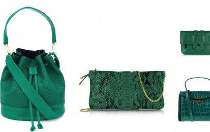 Tendenze Primavera/Estate 2016: le borse verde smeraldo [FOTO] - Le borse verde smeraldo rientrano tra le maggiori tendenze primavera/estate 2016. Sfoglia la gallery per scoprire tutti i modelli più belli in vista della prossima stagione calda.