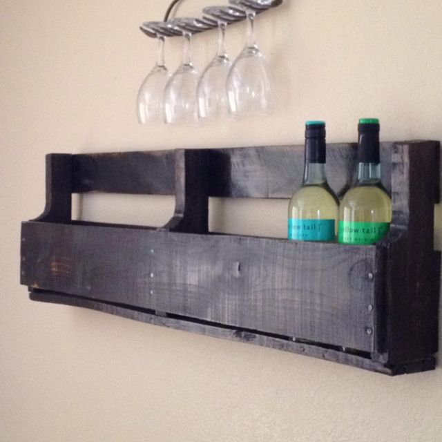 8 best images about pallet wine racks on pinterest for Things to make out of glass
