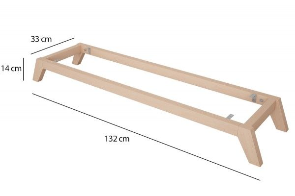 Kallax Regal Untergestell Aus Holz Schrage Fusse In 2020 Kallax