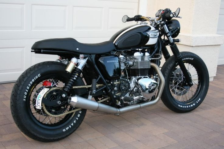 Nicks Triumph Bonneville T100 Custom Cafe Racer | Wicked ...