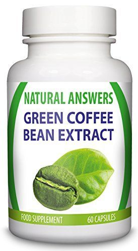 Green Coffee Bean Extract by Natural Answers - High Quality Dietary Pills - Maximum Strength Fat Burning Supplement - Pure Appetite Suppressant Formula - Quick Weight Loss UK Manufactured Slimming Aid - http://weight-loss.mugambogroup.com/green-coffee-bea