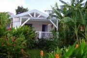 Couleur Cafe Location de bungalows Guadeloupe  a 200m de la plage Leroux - Location Bungalow #Guadeloupe #Deshaies