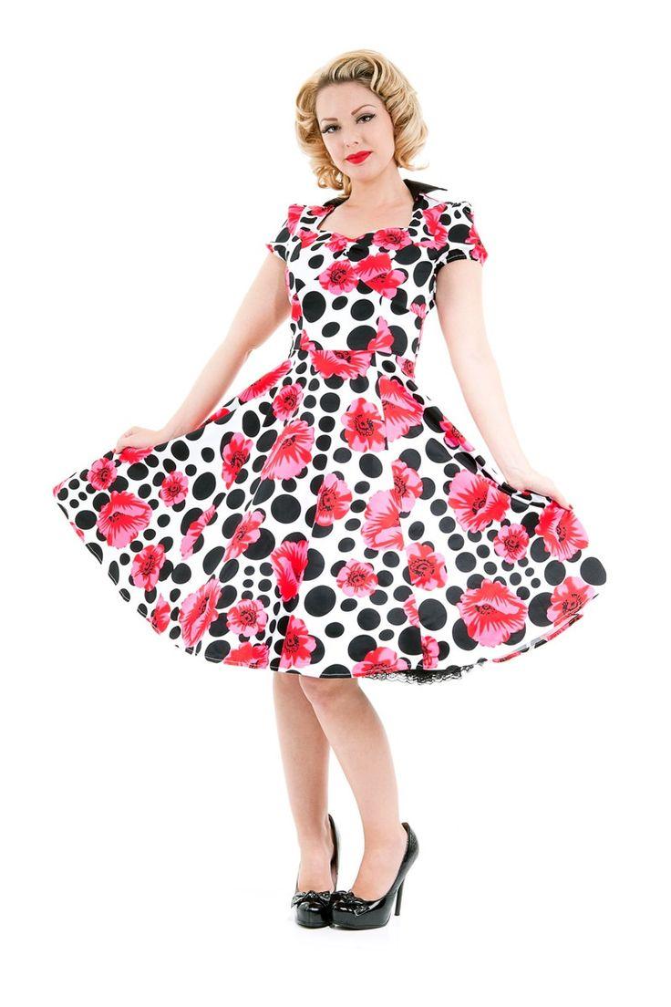 Mejores 18 imágenes de 50s Style Dresses en Pinterest | Estilo de ...