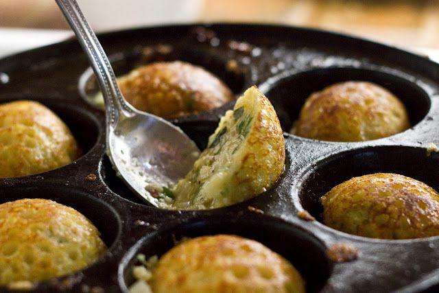 Spicy Lentil Puffed Pancakes (gluten free, vegan dumplings)