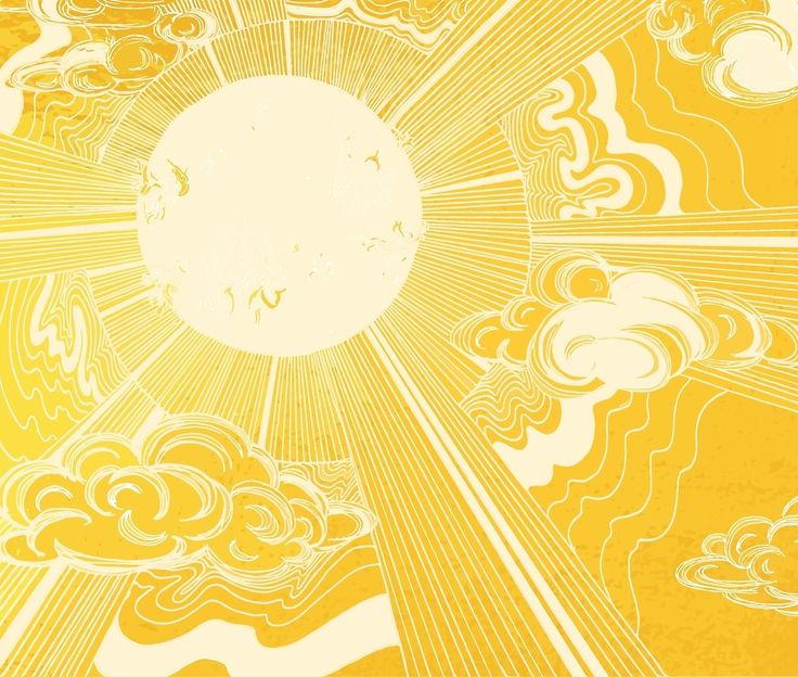Solar Flare by ECMazur #art #sun #star #illustration #digitalillustration #sunshine