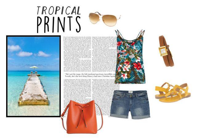 Tropical prints by nefertiti001 on Polyvore featuring interior, interiors, interior design, home, home decor, interior decorating, Bora Bora, Louche, Franco Sarto and Lodis