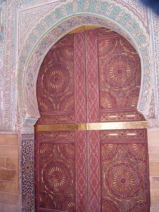 http://www.TravelPod.com - Door way in the Medina by TravelPod member Shanewilson, from Fes, Morocco