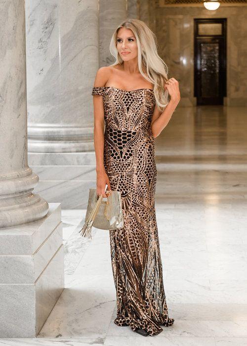Maxi Dress, Sequins, Off Shoulder, Dress, Online Boutique, Online Shopping, Fashion, Fashion Blogger, Style, Utah Boutique, Women's Clothing, Modern Vintage Boutique, Shopmvb, Boutique