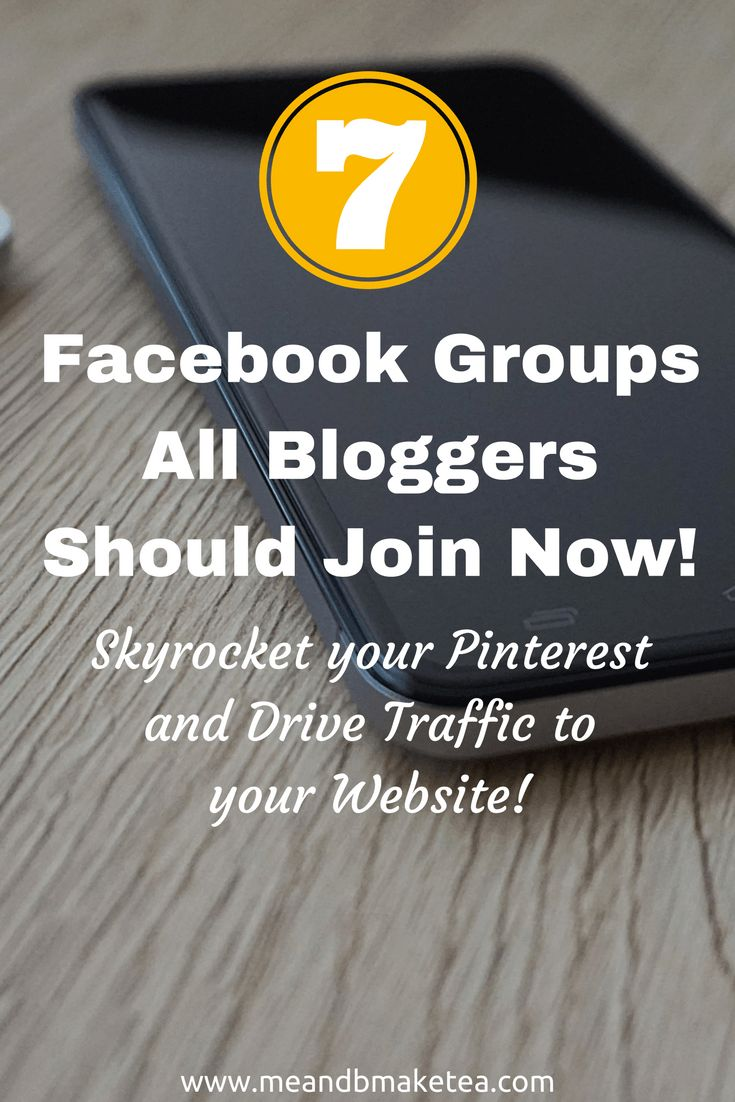 "My Top 7 Facebook Groups to Drive Traffic Through PinterestI've been using Pinterest to help grow my blog for a year now and it's really helped a lot. I blogged about some of my beginners tips here and you can find some Tailwind tips here. Today I'm going to share some of my favourite ""Pinterest-related blogging groups on Facebook"". That's a mouthful of social media words!Basically, if you use Facebook blogging groups then there are a few Pinterest ones which are worth joining!"