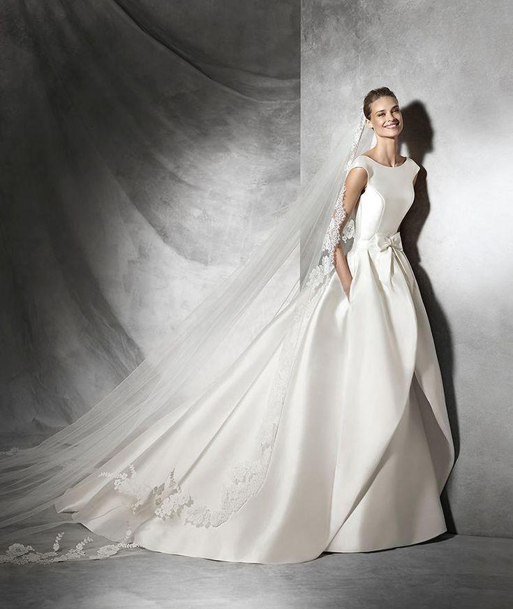 Tabina, Brautkleid im Meerjungfrau-Stil mit U-Boot-Ausschnitt