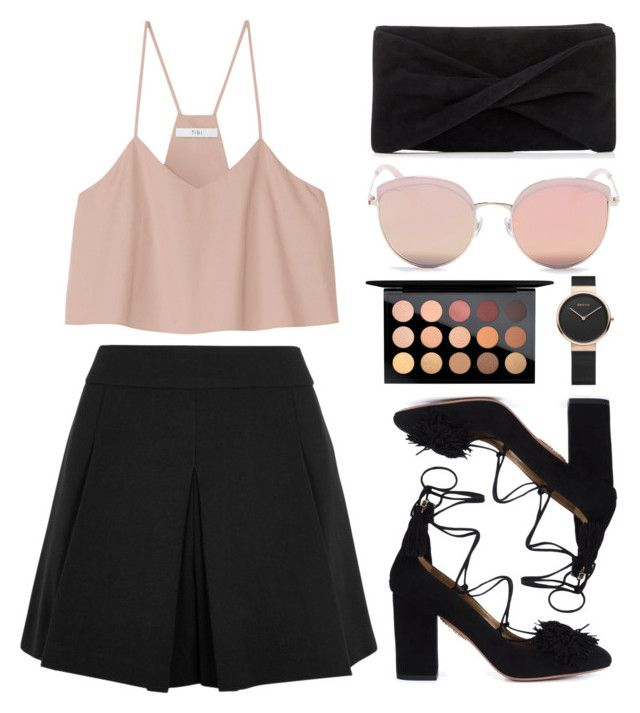 """Untitled #64"" by bts-airport-outfits ❤ liked on Polyvore featuring TIBI, Alice + Olivia, Reiss, Stephane + Christian and MAC Cosmetics"