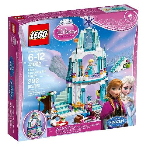 LEGO® Frozen Disney Princess™ Elsa's Sparkling Ice Castle 41062