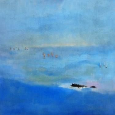 "Saatchi Art Artist Laura Beatrice Gerlini; Painting, ""The regatta. Bretagne."" #art"