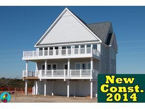 Topsail Island rental: Island Drive 4284 - Oceanfront 6 bedroomshouse in Ocean Ridge, North Topsail Beach,