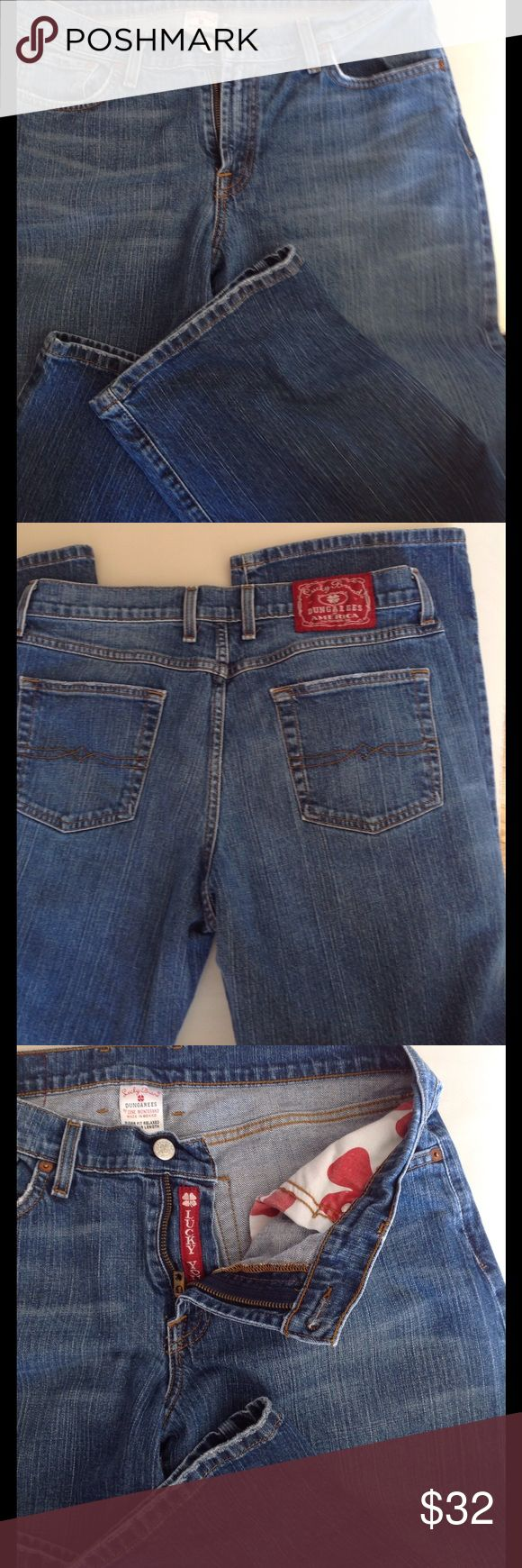Lucky Brand jeans New Lucky Brand Dungarees jeans , size 14/32. Lucky Brand Jeans Straight Leg