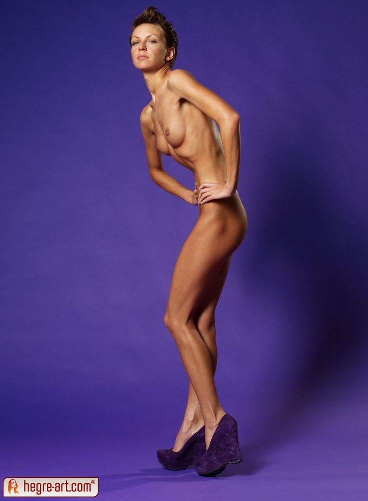 Nude Skinny Runway Model From Europe  Figure Ref  Runway -4468