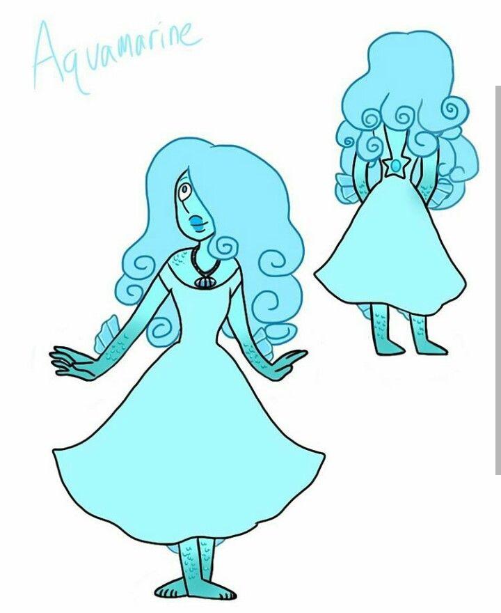 AquaMarine FanGem Steven Universe