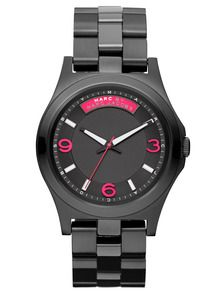 Marc by Marc Jacobs Watches Womens Black Stainless Steel Watch