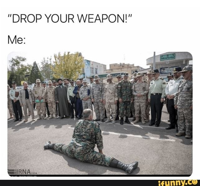 Drop Your Weapon Ifunny Dark Humour Memes Funny Jokes Funny Relatable Memes