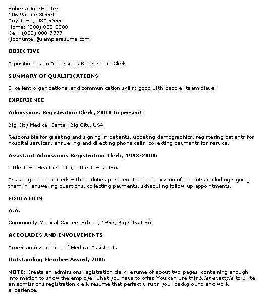 Resume Template Teenager No Job