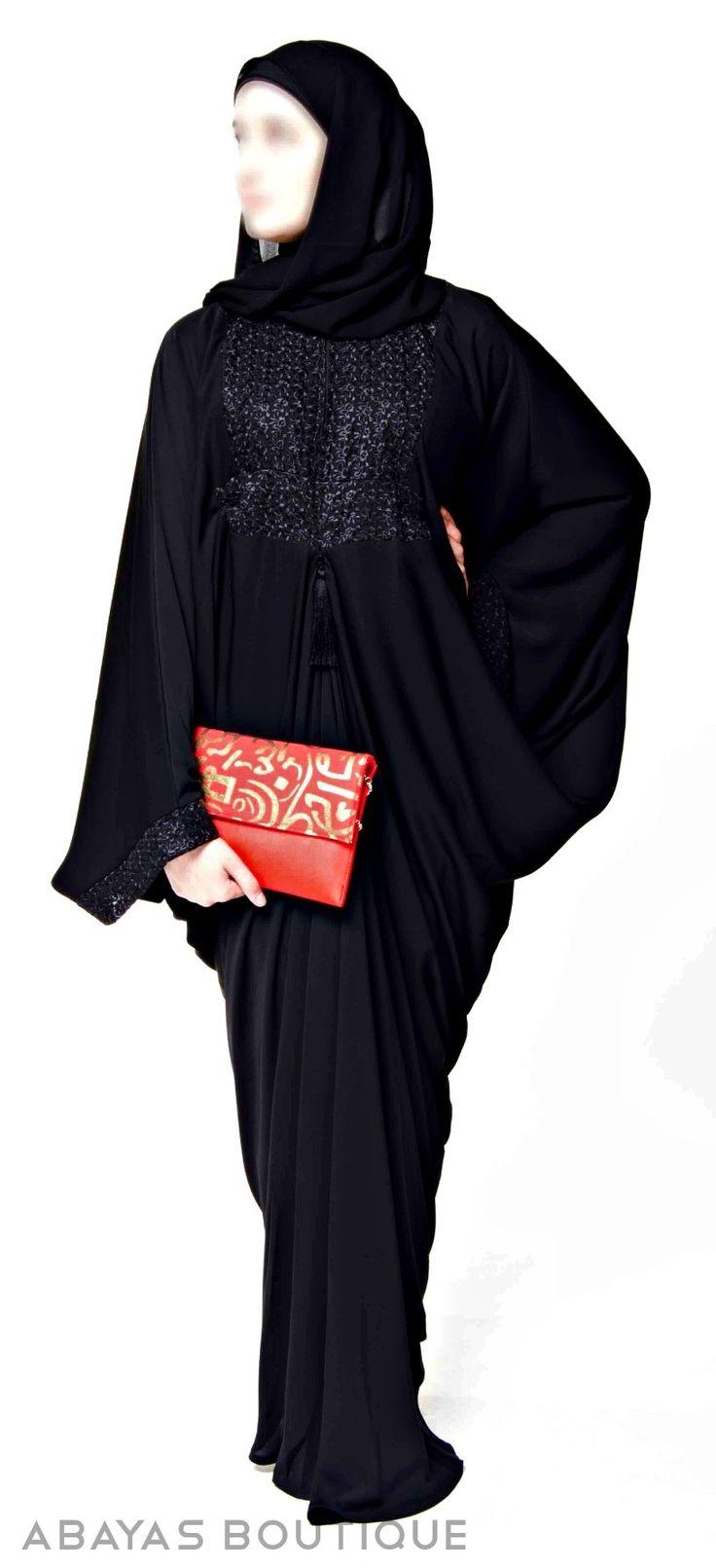 Madame Butterfly Abaya