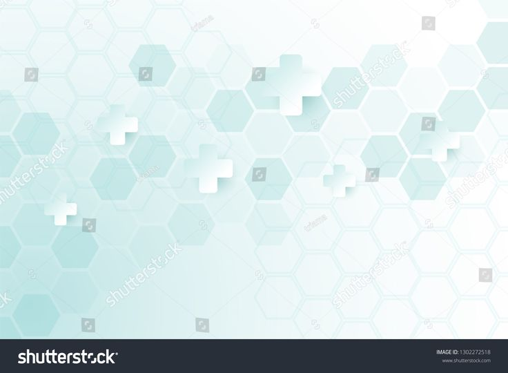 Abstract healthy and medical background. Technology and science wallpaper template with hexagonal shape. Soft blue color medical banner template with …