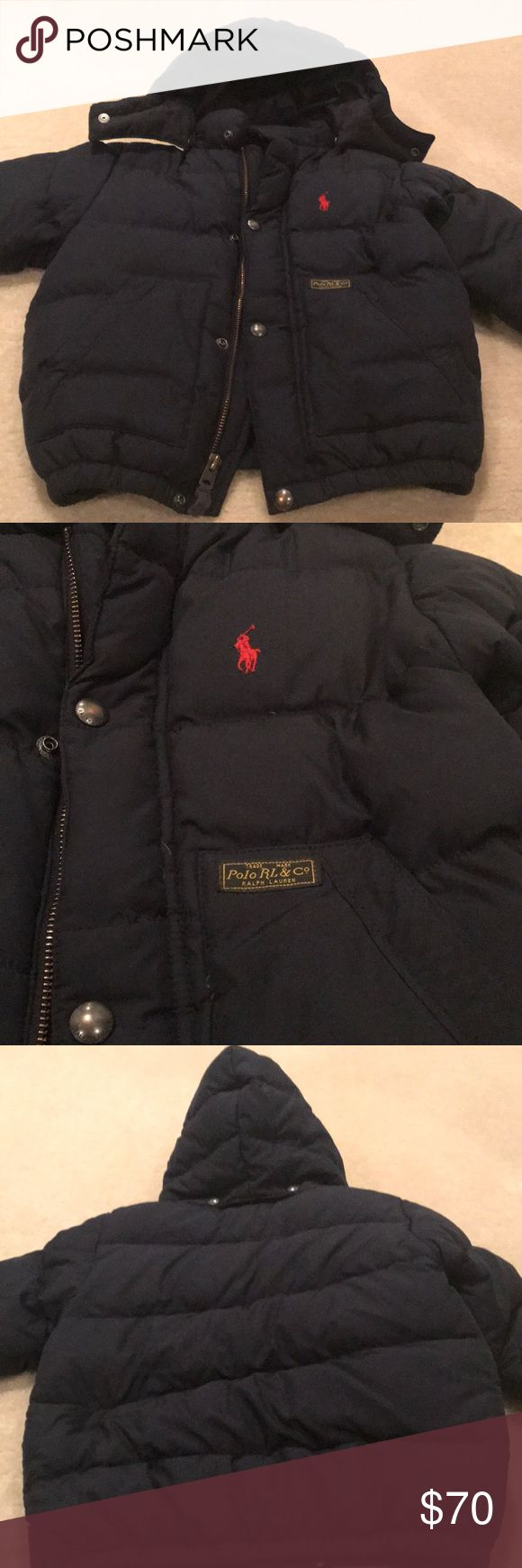 Polo Ralph Lauren Baby Boy Winter Coat EUC. No stains rips or holes. Super clean Pet & smoke free home. Polo by Ralph Lauren Jackets & Coats Puffers