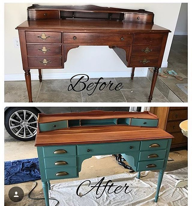 Who doesn't love a good before and after? @diy.darlings used #kitchenscale to transform this piece into a statement that pops!  What are you working on? Tag us in your photos and posts  and keep on moving those mountains!  #mmsmp #mmsmilkpaint #iheartmilkpaint #milchfarben #mjölkfärg #peintureaulait