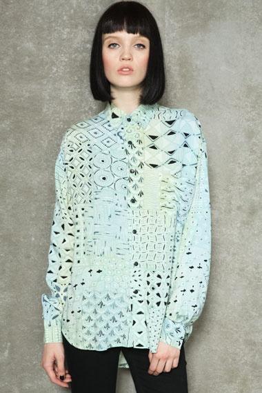 Vintage Renewal Long-Sleeved Patron Rayon Shirt  #uostyle