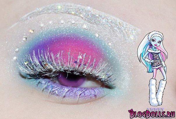 Макияж в стиле Monster High