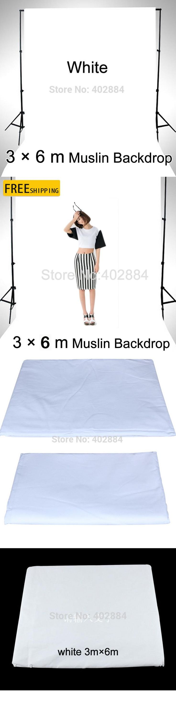 Free tax to Russia new photographic equipment Diamond Cloth Background Backdrop New - 3*6m muslin backdrop white Fast Shipping